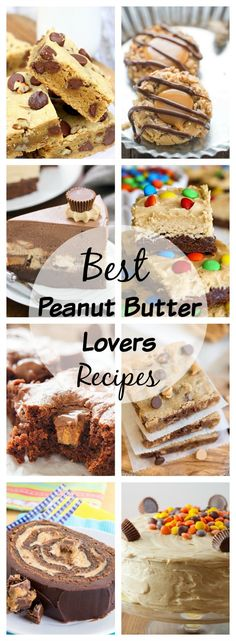 Peanut butter recipe lovers rejoice! This round up is just for you! via @Lemonsforlulu