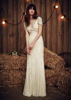 Vestido de novia de Jenny Packham en Blanco de Novia.