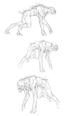 Tobias Kwan - The Order: 1886 · Concept Art - Tobias Kwan – The Order: 1886 · Concept Art Conceptual Style and design Monster Drawing, Monster Art, Monster Sketch, Creature Concept Art, Creature Design, Werewolf Art, Monster Concept Art, Arte Obscura, Poses References