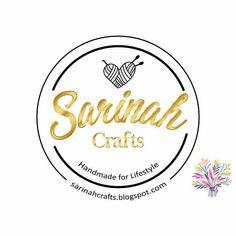 💛New logo 2018🌷Love that awesome 😍 creation#sarinahcrafts  #logo #motivate #creation