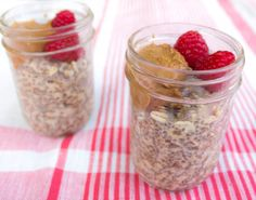 Maple and Almond Chia Overnight Oats