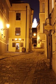 Evening walk in the Old Town of - impossible not to fall in love Bratislava, Old Town, Hungary, Old Things, Group, History, Night, Fall, Places