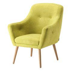 Lime nojatuoli Mine kankaalla, väri Mango - Me kalustajat Sofa, Couch, Living Room Interior, Recliner, Accent Chairs, Master Bedroom, Armchair, Mango, Lime