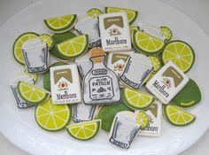 Patron & Lime Cookies (SugarBelle)
