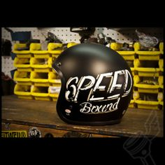 "Bell ""Bonneville"" Custom 500 Helmet - Speed Bound Bubble"