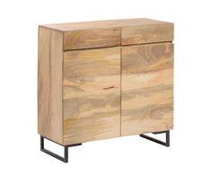 88 cm x 88 cm x 40 cm Mango wood commode http://unodesign.pl/item/672/299/Katalog-produktow/Meble/Kolekcje/SoHo/Komoda.html