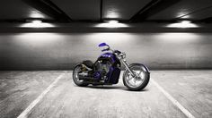 Check out my tuned #Harley-Davidson #CustomChopper 2011 at #alcarplayground #tuning