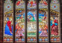 'Nativity' window, Chester Cathedral