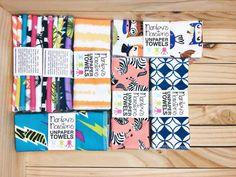 6 UNPAPER TOWELS. You choose prints. by marleysmonsters on Etsy
