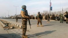 Gunmen seize building in Afghan capital, firing on security forces