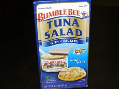 Tuna Salad Original with Crackers - Our classic, creamy tuna salad is mixed and ready to eat.
