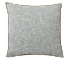 Cotton Basketweave Pillow Cover
