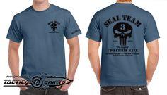 Chad Littlefield Military Service | Shirt: Black Ink Chris Kyle – Chad Littlefield Memorial
