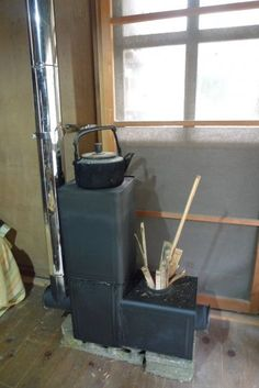 Brilliant rocket stove design , lm going to try this. Metal Projects, Welding Projects, Projects To Try, Rocket Stove Design, Rocket Mass Heater, Stove Heater, Outdoor Oven, Rocket Stoves, Wood Burner