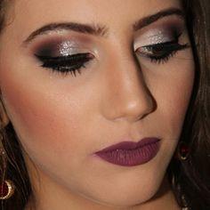 Make linda e poderosa #glam #glitter #brilho