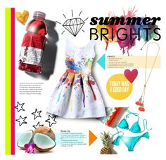 """Summer Brights"" by littledesigns ❤ liked on Polyvore featuring Summer, fashionset and summerbrights"