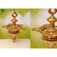 It is considered very auspicious to have at least one hanging velak in Hindu households. Here is your chance to own an exquisite one! Brass Lamp, Decorative Bells, Traditional, Crafts, Home Decor, Products, Manualidades, Decoration Home, Room Decor