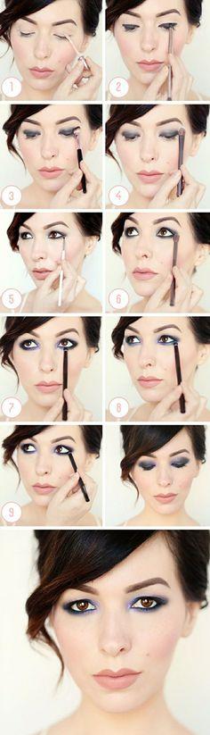 Maquillage facile en 69pas