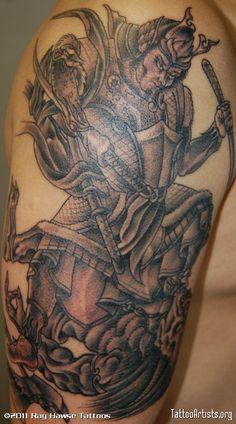 Pics Photos - Demon Samurai Tattoo Artists Artistsorg Pictures