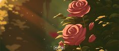𝓛𝓲𝓷 - Anime Gifs Art by Autumn Aesthetic, Aesthetic Gif, Rose Wallpaper, Scenery Wallpaper, Gifs, Rose Background, Chroma Key, Animation, Gif Pictures