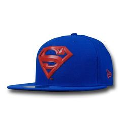 Superman Beveled Symbol 59Fifty Blue Cap