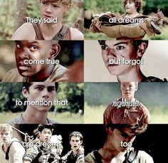 nooooo, newt Im literally going to cry my eyes out in the theater when the wonderful Thomas Brodie Sangster acts out 'the scene' from the books Saga Maze Runner, Maze Runner Quotes, Maze Runner Funny, Maze Runner Trilogy, Maze Runner Thomas, Maze Runner The Scorch, Maze Runner Cast, Maze Runner Movie, Thomas Brodie Sangster