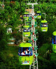 Parque del Café, Eje Cafetero, Colombia. Mucho más sobre nuestra hermosa Colombia en www.solerplanet.com