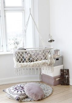 lovely bassinet...