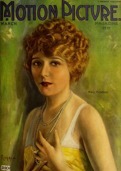Mary Pickford on the cover of Motion Picture Magazine, March 1922