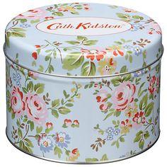 Cath Kidston Chelsea Roses Tin