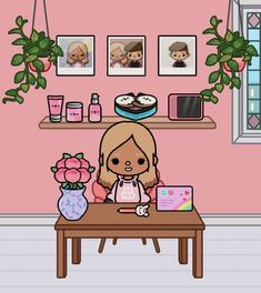 Free House Design, Cute Apartment, Life Words, World Recipes, Pusheen, Characters, Ideas, Cute Disney Wallpaper, Celebrity Guys
