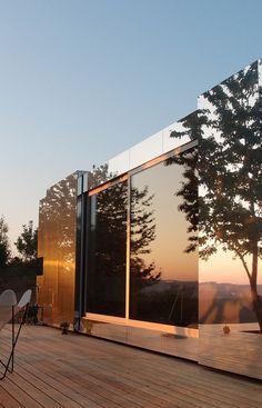 Casa Invisible - House with Reflective Facade | Design & DIY Magazine