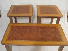 Redwood Burl Table set