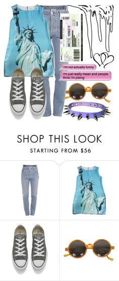"""Contest Set (2/2)"" by tell-me-pretty-lies ❤ liked on Polyvore featuring Vetements, Moschino and Converse"