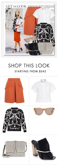 """""""Get the Look: Preppy Trend"""" by alaria ❤ liked on Polyvore featuring McQ by Alexander McQueen, Proenza Schouler, Alexander McQueen, Yves Saint Laurent, Rebecca Minkoff, GetTheLook and preppy"""