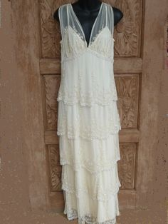 Vintage wedding dress by PuertoRicosBazaar on Etsy