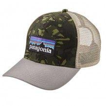 Gorra Patagonia P-6 Logo Trucker hat big camo fe6015ce405