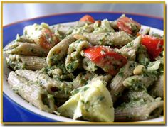 Cooking with Cathy's Recipes: Pasta with Artichokes