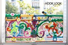 Un balcon fleuri toute l'année ! ~ HOOKLOOK. Méli-mélo d'idées en laine et au crochet.