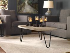 Uttermost Leveni Weathered Gray Wash Wood Top Coffee Table Furniture-Living-Room-Tables-Coffee-Tables-Uttermost-24459 interiorclue-24459-uttermost-furniture Uttermost Leveni Weathered Gray Wash Wood Top Coffee Table