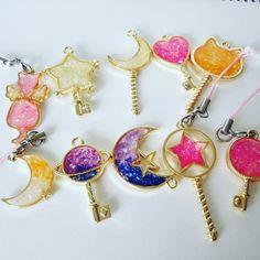 Cute magic wand charm,magic stick,sailor moon,charm for phone or bag.So cute and kawaii!!( ^ω^ )