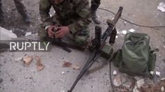 Syria: Militants bombarded in Wadi Barada as Syrian Army prepares for ma...