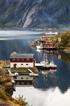 Sund, Lofoten Islands, Norway- I Scandinavia Places Around The World, Oh The Places You'll Go, Travel Around The World, Places To Travel, Places To Visit, Around The Worlds, Travel Stuff, Lofoten, Wonderful Places