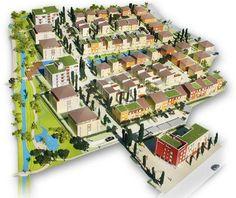 """Urban Planning - Arkadien Winneden Development - Goal of """"World's Most Sustainable Development"""""""