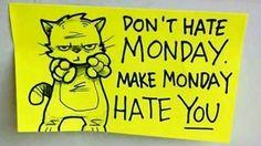 Don't hate Monday! #MondayMotivation // follow us @motivation2study for daily inspiration