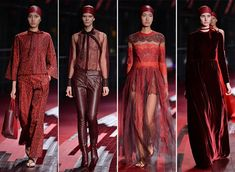 Valentino's Shanghai Collection 2013  #fashion #red