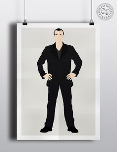 #minimalist #poster #posteritty #fanart #whovian #drwho #doctorwhol #Ecclestone