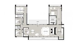Ranch style house plans are typically single-story homes with rambling layouts. Open floor plans are characteristic of the Ranch house designs offered at ... #barndominium #floorplans #homedecor #farmhouse #ranchhouse #country #dreamhouse #barnhouse