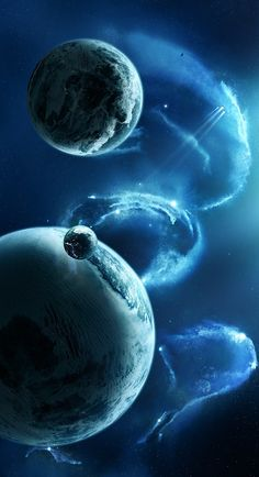 {OBJECTS in SPACE} #Universe #Galaxy #Space #Asteroid #Planet #sci-fi #Nebula #Meteor from mindblowingpicture.com