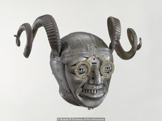 The Horned Helmet of Henry VIII    Presented to Henry by Holy Roman Emperor Maximilian I, 1514.